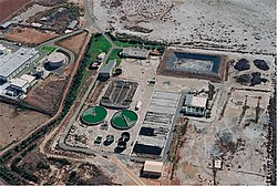 Sewage traetmant plant Larnaca [image source: Google Earth]